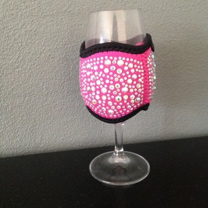 Champagne or Tasting Glass - Pink