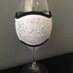 Wine Glass Cooler - Large White