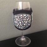Champagne or Tasting Glass cooler - Black