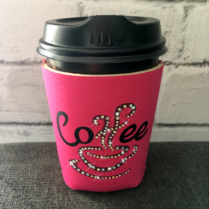 Winestoppers - Pink Coffee Cup Cooler 300 x 300dpi