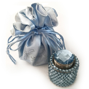 Blue Popper with gift bag