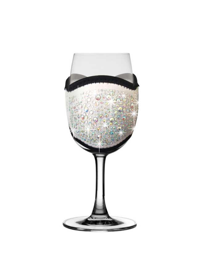 White-champagne-tasting-glass-cooler